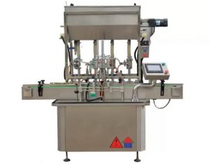 CE Standard Sauce Paste Bottle Filling Machine