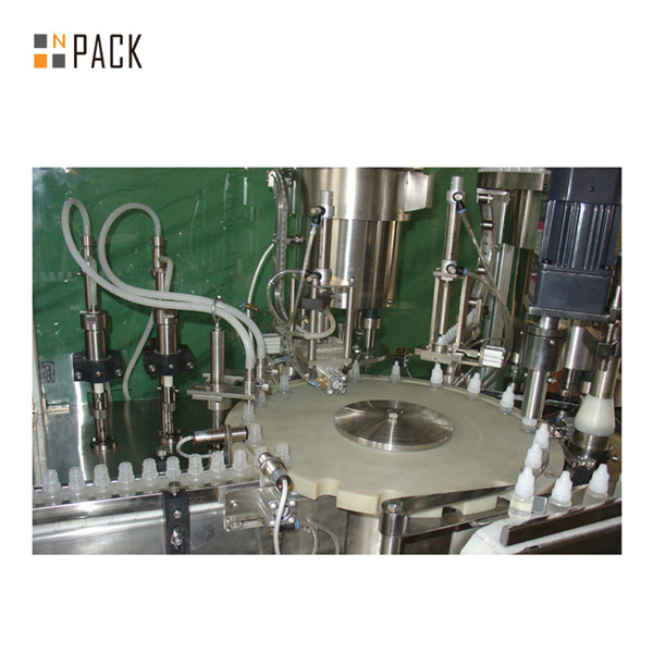 Vape Juice Bottle Filling Machine Capping