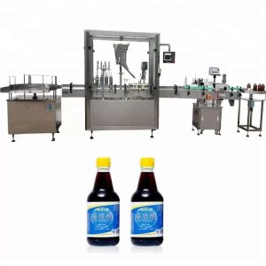 PLC Control Machine Bottle Shipping Machine With 4 Nozzles