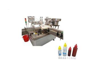 Touch Screen Liquid Vial Filling Machine