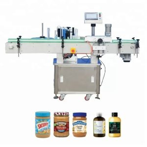 Vertical Self - Adhesive Labelling Labelling Machine For Derman
